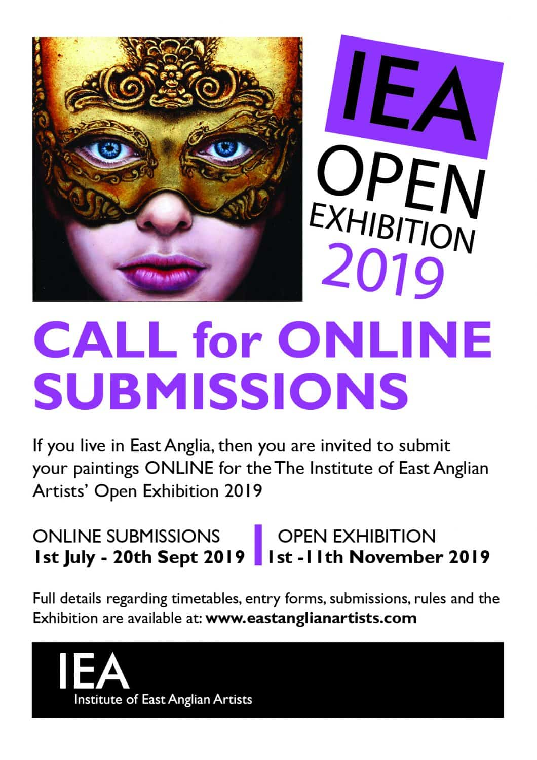 Annual Open Exhibition - Institute of East Anglian Artists